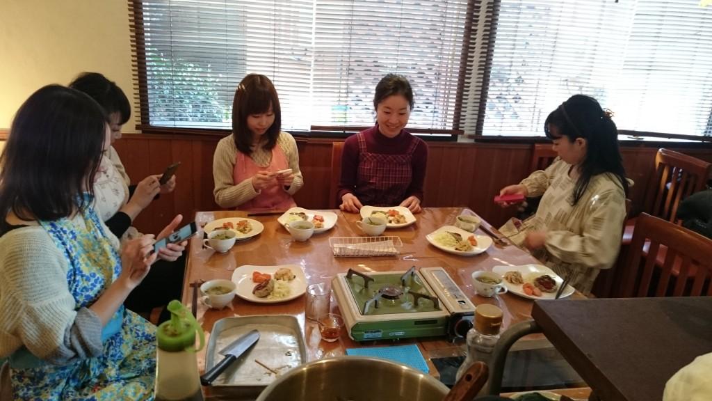 3/22 料理教室開催します