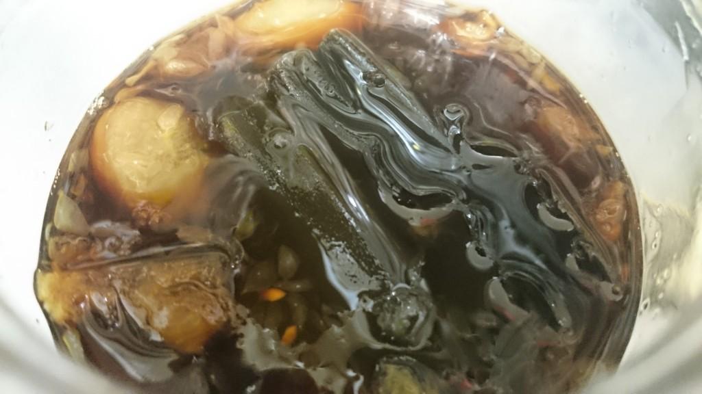 手作りの柚子ポン酢