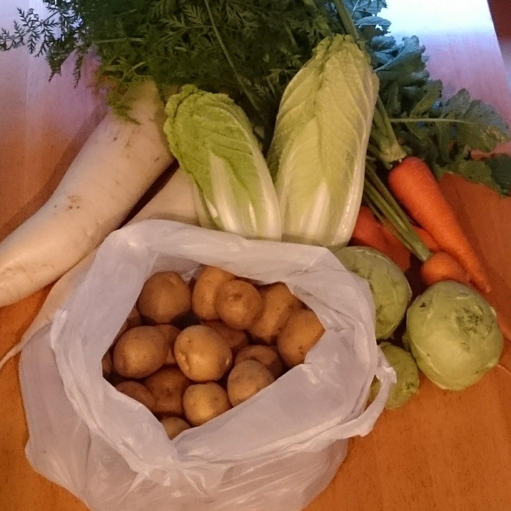 みのり農縁さんのお野菜が届きました!