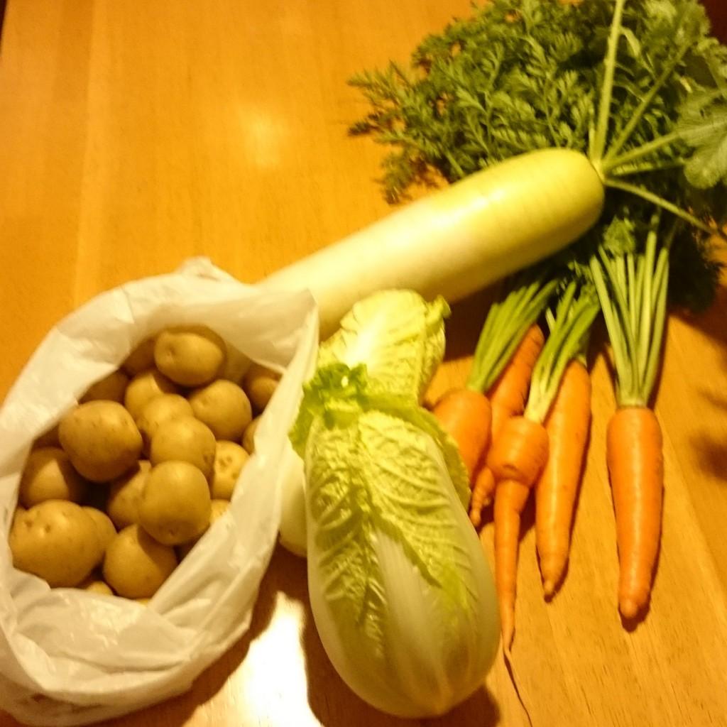 今週のお野菜、届きました!