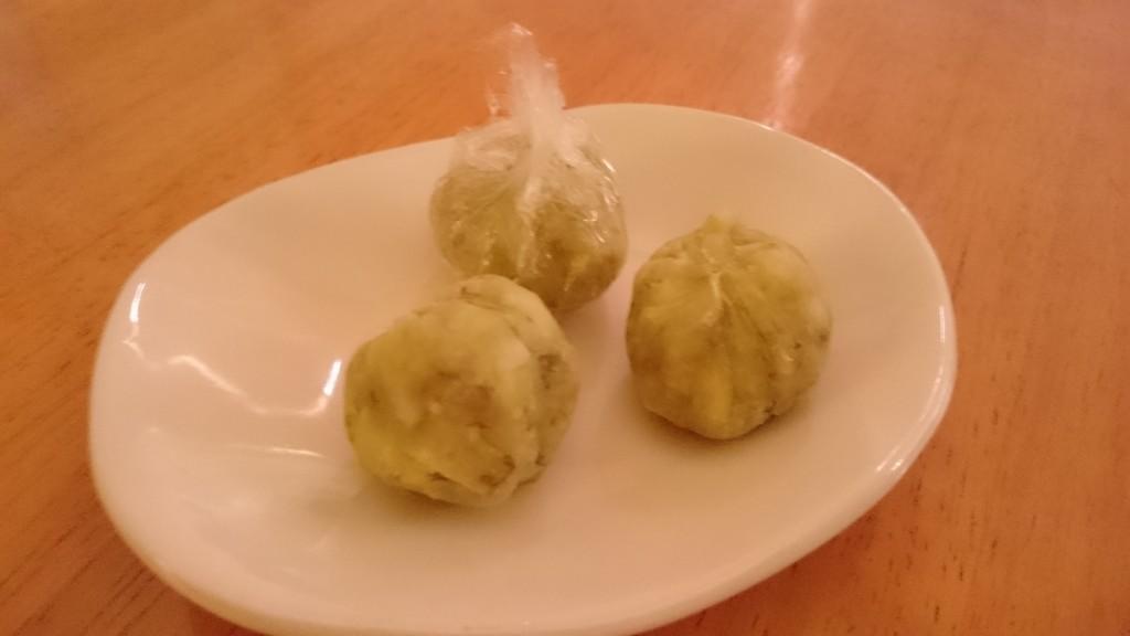さつま芋でカンタンおやつ<お芋と林檎のきんとん>