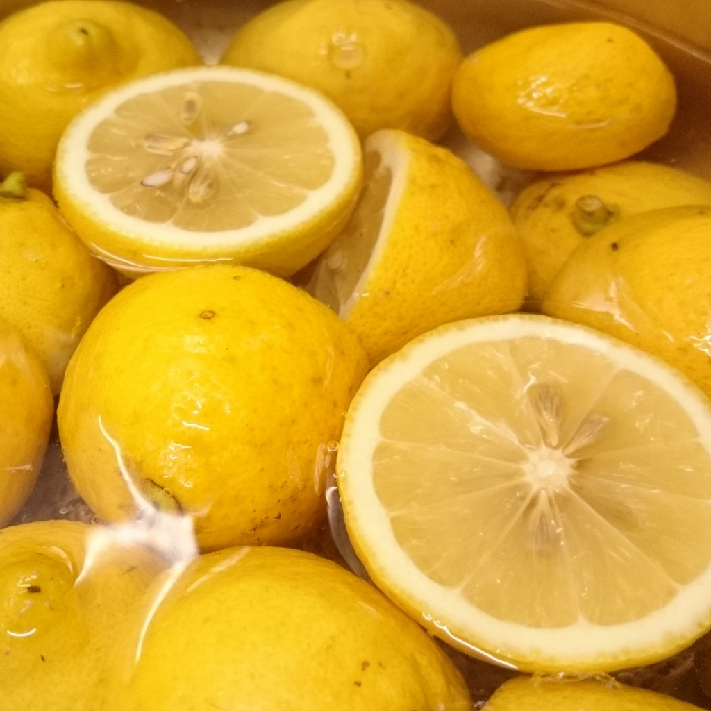 ふくろう特製レモンスライスの蜜煮で新作ケーキ