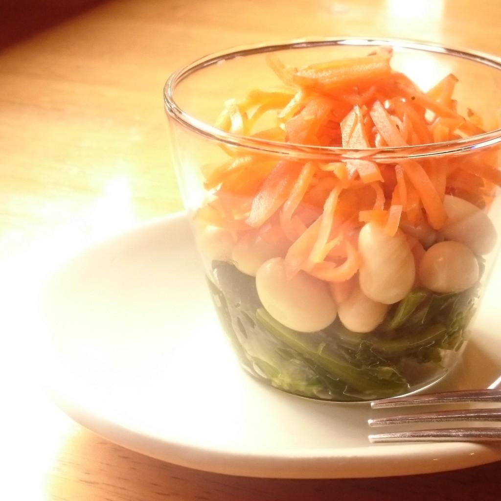 ひな祭りの食卓にぴったりの3色豆サラダ