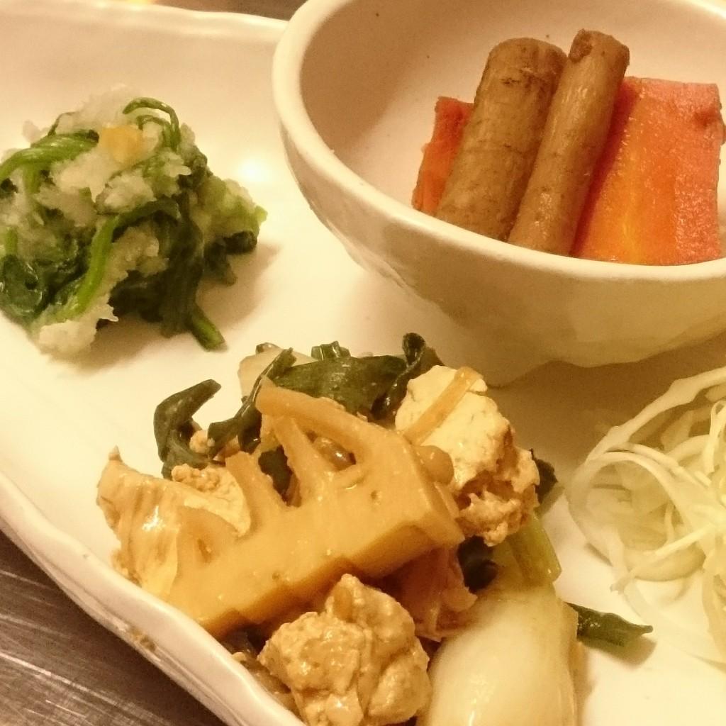 野菜たっぷりなおかず達(4/6‐9分)