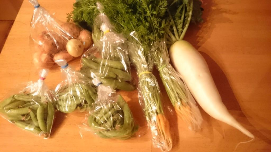 【農薬肥料を使わない】みのり農縁さんの新鮮お野菜届いてます