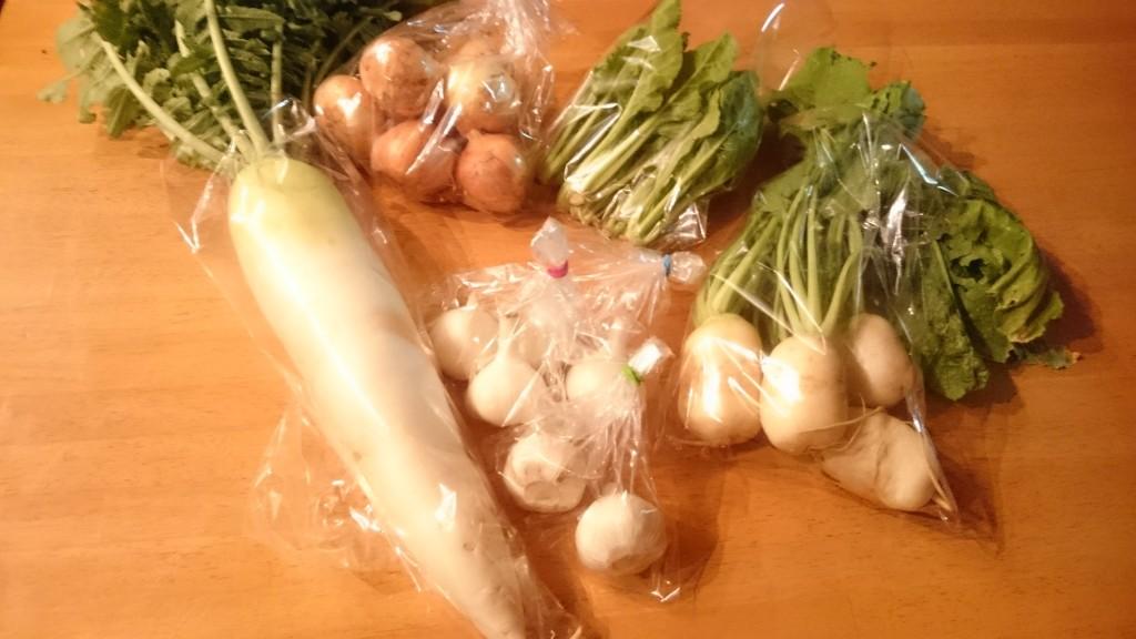 みのり農縁さんの新鮮お野菜届きました