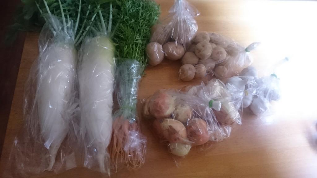 農薬肥料を使わない みのり農縁さんのお野菜届きました!
