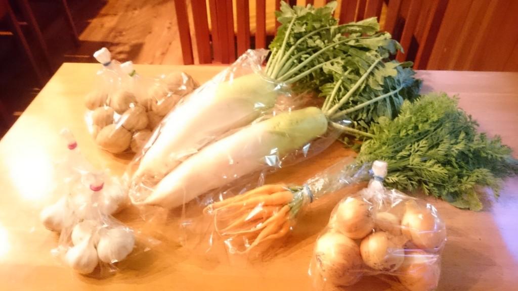好評です!みのり農縁さんのお野菜届きました