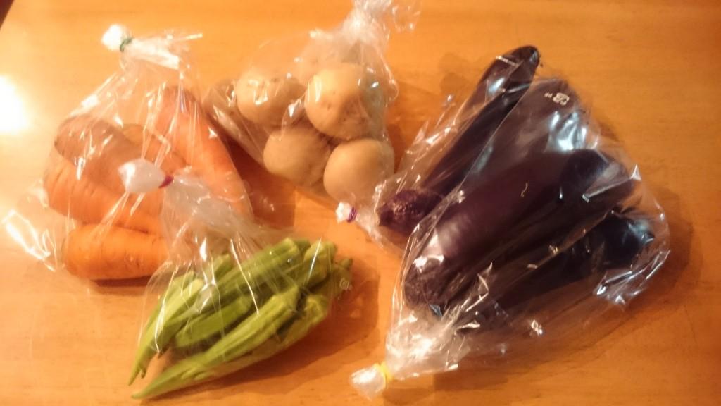 みのり農縁さんのお野菜が届きました