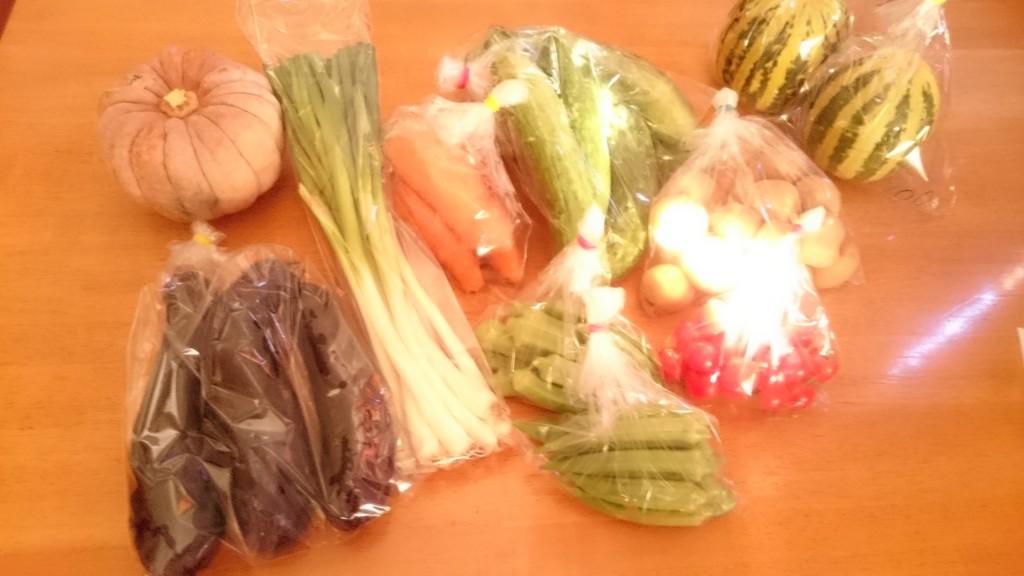 みのり農縁さんのお野菜届きました
