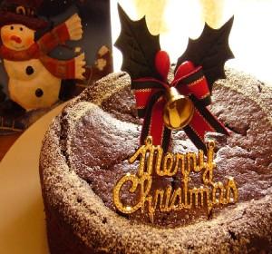 【卵・乳・白砂糖不使用】クリスマスケーキ受付中です