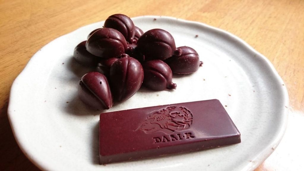カカオ豆から手作りチョコレート♪